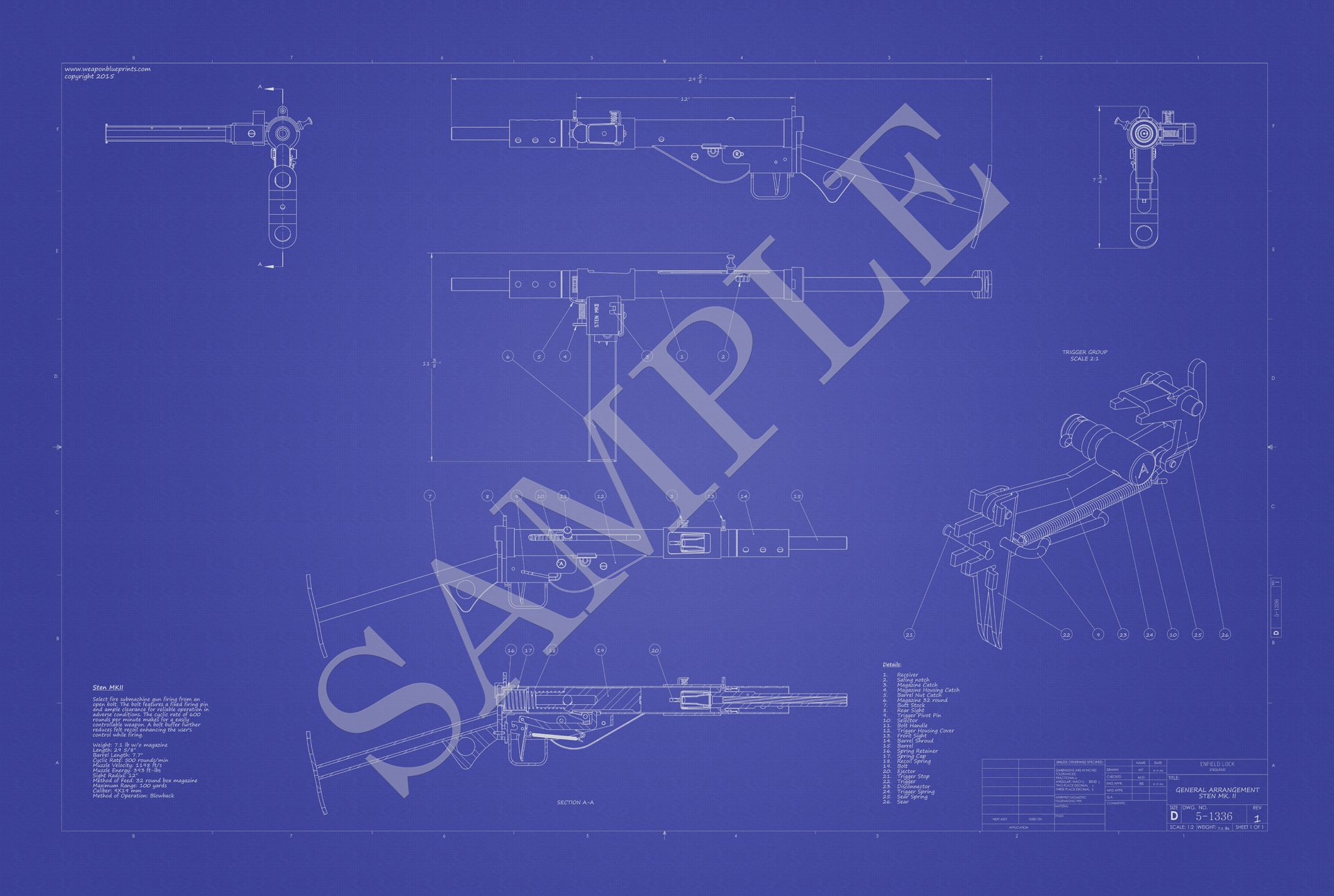 weaponblueprints, Wiring schematic